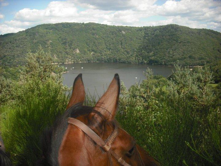 Le lac des Fades à Cheval