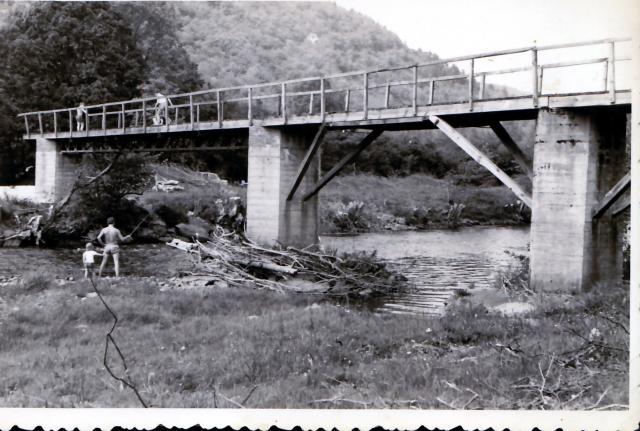 Le pont de la mine les issets 1967