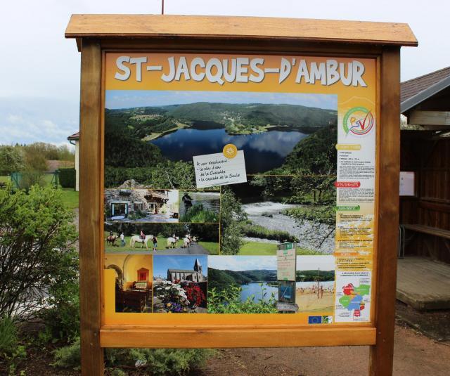 Panneau touristique